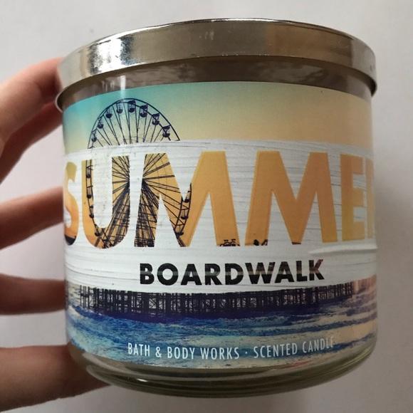Summer Boardwalk Bath & Body Works 3-Wick Candle